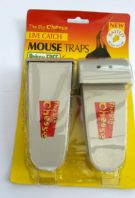 The Big Cheese Live Catch  Mouse Traps- Baited Ready to Use-Pack of Two
